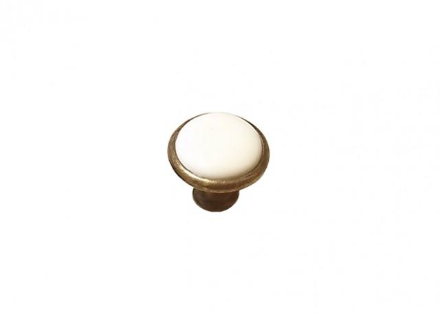 Дръжка 2765  керамика крем