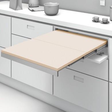 Механизъм за изтегляща се сгъваема маса от шкаф SHELF & TABLE H