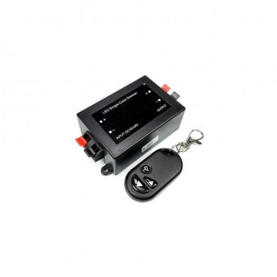Димер за едноцветни LED ленти с радио-управление RF  96W