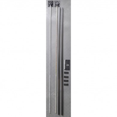 Обтегач за гардеробна врата - PVC  планки    Y-014