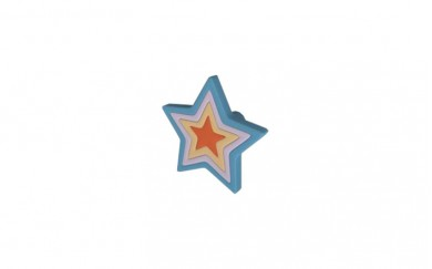 Мебелна дръжка за детска стая Звезда
