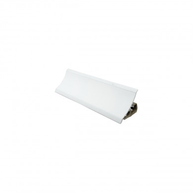 PVC  водобранна лайсна V120  бял гланц    3.00 m.