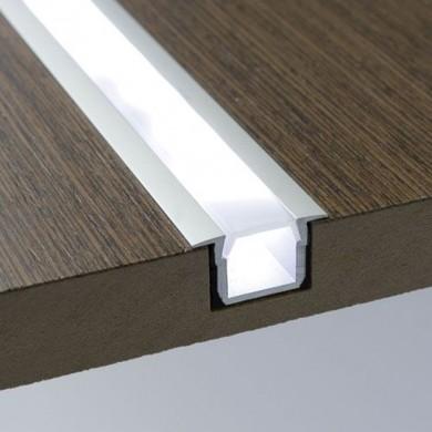Алуминиев профил за LED лента - за вкопаване