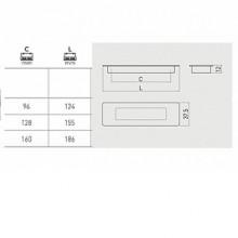 Мебелна дръжка за вкопаване UZ-E6  инокс