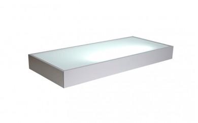 Осветително тяло - дъно на горен шкаф / рафт