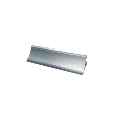 PVC Водобранна лайсна V120 мат металик