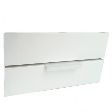 Мебелна дръжка Г профил бял гланц