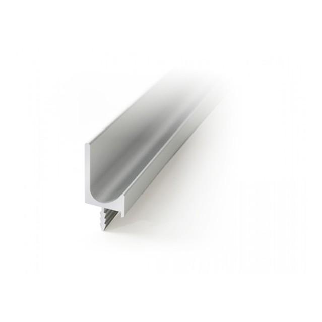 L кант профилна алуминиева дръжка с нут