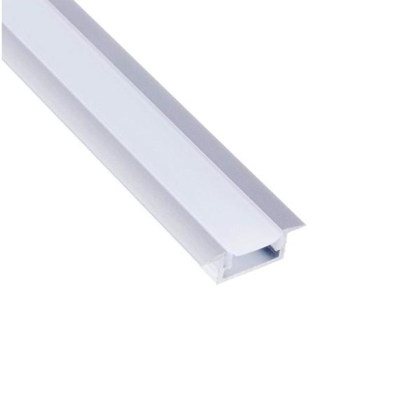 Алуминиев вкопаем профил за LED лента   INLINE mini