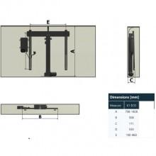 Механизъм за повдигане на TV  / монитор  K1 ECO