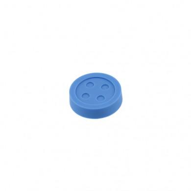 Мебелна дръжка BUTTON  синя