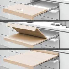 Механизъм за изтегляща се сгъваема маса от шкаф SHELF & TABLE 2S