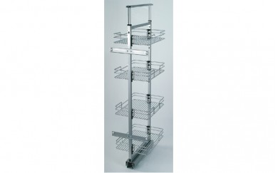 Кухненски механизъм за вграждане  -  3  кошници