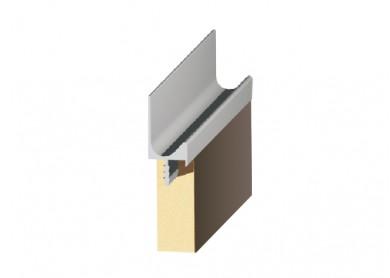 Алуминиева кант дръжка за кухня   2242      D-5986