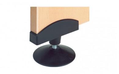 PVC подложка за бюро, дясна 18 mm