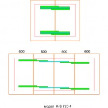 Телескопичен мeханизъм за маса KOMBI   POTTKER
