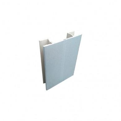 Чупещ PVC ъгъл за цокъл - мат хром