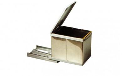 Кош за вграждане - PVC + алпака   12 L.     21750