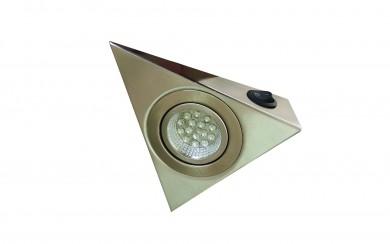Мебелна LED  луна триъгълна - с прекъсвач