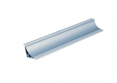 PVC  водобранна лайсна - малка TESAY  3.66 m.