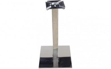 Централен мебелен крак 60х60 с  квадратна основа