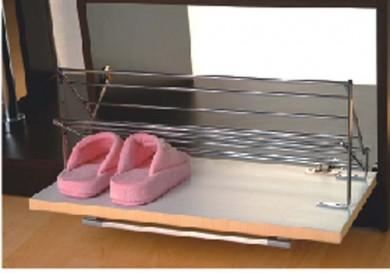 Поставка за обувки два реда метална Starax