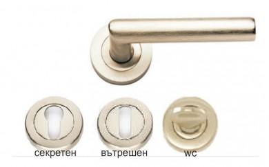 Дръжка - розетка за интериорна врата  YAKUT