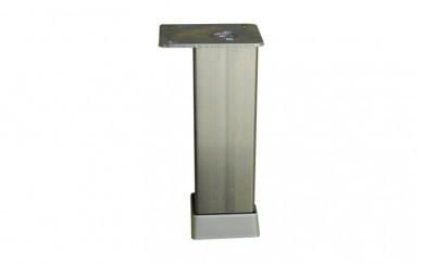 Крак 30х30, h=150  mm    гладък   инокс