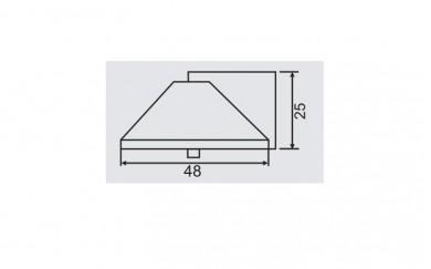 Стопер за интериорна врата - монтаж на под