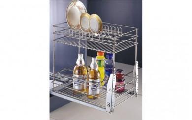 Изтеглящ механизъм за чинии и бутилки