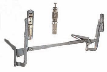 Механизъм за верт.повдгаща врата
