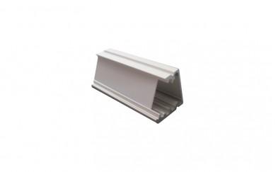Алуминиев профил за LED лента - външен - ъглов
