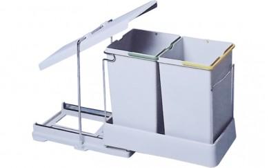 Кош за вграждане - PVC   14 + 14 L.      21550