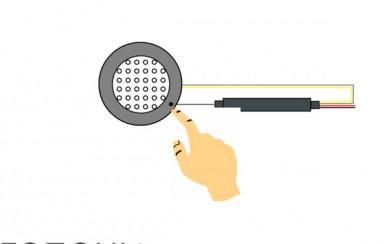 Тъч  сензор  ON /OFF  с три-степенен димер