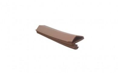 Уплънение за врати - асиметрично перо - 10 mm