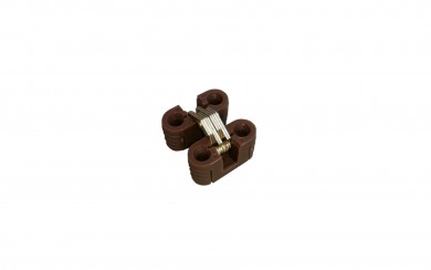 Панта чупеща за среден плот на разтегателна маса  PVC     30*12