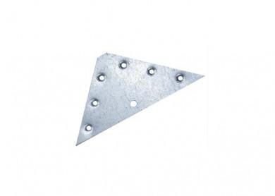 Триъгълна планка за горен шкаф