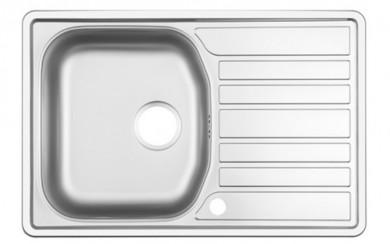 Мивка NR-101 48x73   0.6mm    голям сифон