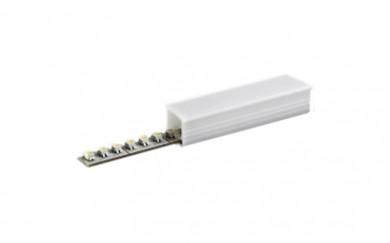 PVC  профил за вграждане на LED лента в канал