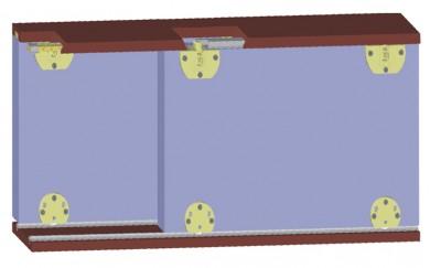 Механизъм за плъзгащи  врати до 30 кг.    Y-005