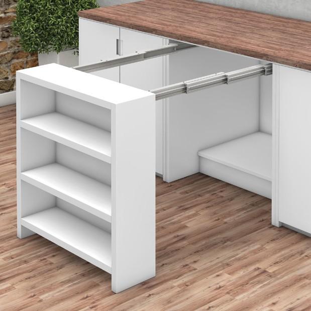 Механизъм за изтегляща се маса заедно със шкаф EXCAB TABLE