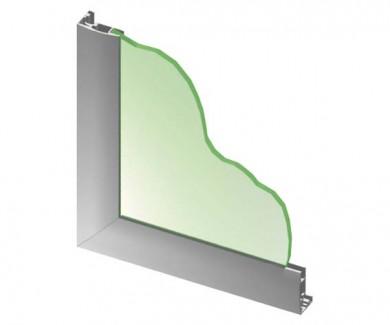 Алуминиев профил за врата DECOFIX  (D)