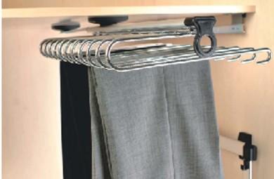 Телескопична поставка за панталони - горен монтаж