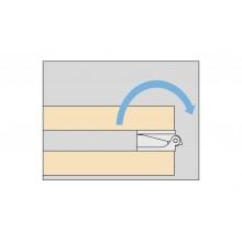 Панта за чупещи врати тип хармоника