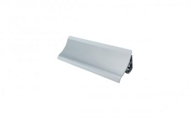 PVC  водобранна лайсна - малка  сребро    TRMPL   3.00 m.