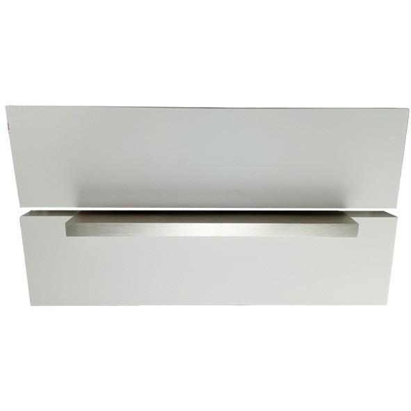 Мебелна дръжка Г профил  инокс