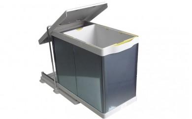 Кош за вграждане изтеглящ  - алпака  20+1 L.      21100