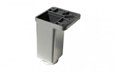 PVC Крак 40х40  с реглаж   -  мат хром