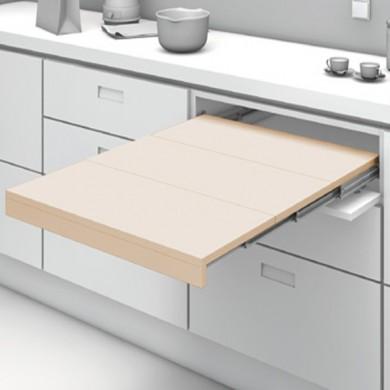 Механизъм за изтегляща се сгъваема маса от шкаф SHELF & TABLE 3S