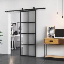 Механизъм за плъзгаща преградна врата в кънтри стил LOFT